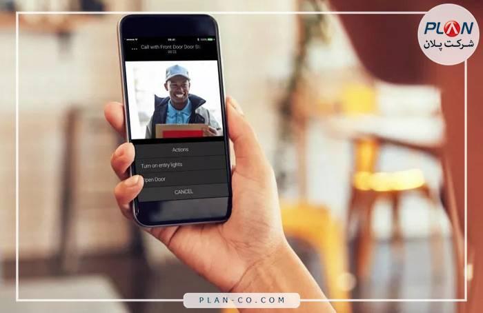 کاربری خانه هوشمند Control4 در زمینه اینترکام