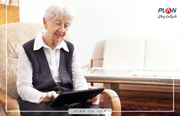 کاربری خانه هوشمند Control4 برای سالمندان