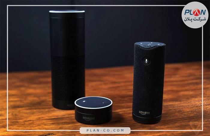 رابط کاربری خانه هوشمند دستیار صوتی آمازون