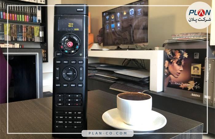 رابط کاربری خانه هوشمند ریموت کنترل Control4