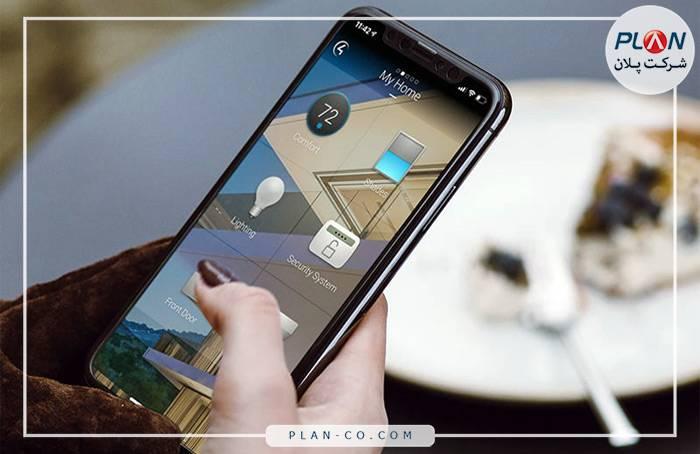 رابط کاربری خانه هوشمند موبایل و تبلت