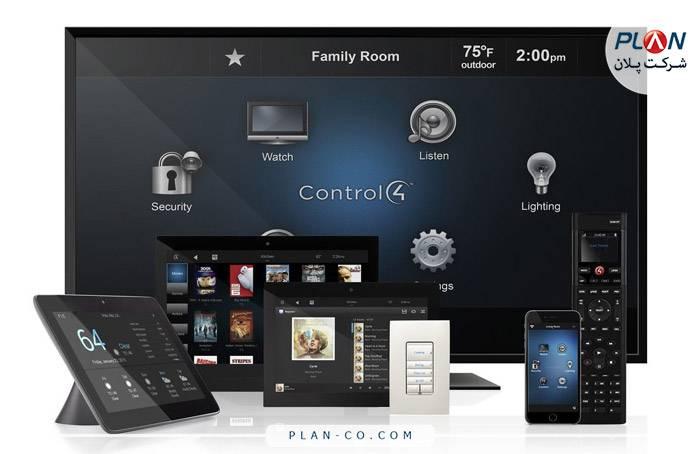 سبد گسترده محصولات CONTROL4