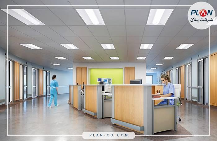 کنترل روشنایی بیمارستان هوشمند